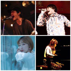 "BLAH BLAH BLAH 2nd anniversary ""Come Inside!!"" 清水英明(THEWATTER ) / 古田ミチヒロ/高原しぐれ with Yuki / オオヤライ(THE BUM)"